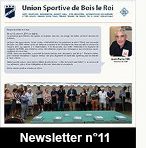 Newsletter n°11