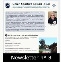 Newsletter n°3